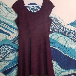 BeBop Maroon Dress